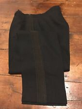 Arc 401 Vintage bespoke officers cavalry mess black trousers size 34