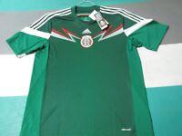 NWT Adidas Mexico Home Green White Soccer Jersey Men's XL