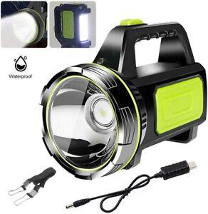 LED Suchscheinwerfer Taschenlampe Wiederaufladbarer Handscheinwerfer Tragbar