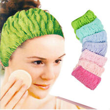 Women Girls Towel Face Wash Shower Spa Makeup pajama party Hair Headband