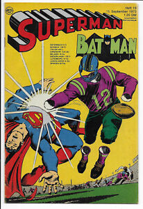 Superman Batman Nr.19 vom 15.9.1973 - Comicheft Ehapa ORIGINAL