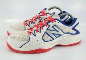 New Balance Kids Tennis Shoe Boys Size 5.5 KC786PPY White Blue Red