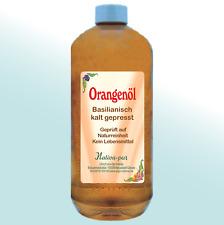 1A Orangenöl 1000 ml-PE-Flasche 100% Natur Brasilien klat gepeßt