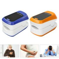 Finger Pulse Oximeter Blood Oxygen SpO2 Monitor Heart Rate Patient Monitor