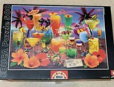 Educa happy hour 500 piece jigsaw puzzle COMPLETE