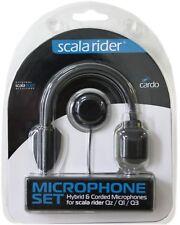 Cardo micrófono-set híbridos car cable versión para Scala Rider qz/q1/q3