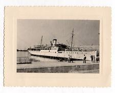 Photo ancienne - Bateau Navire de croisière DALMACIJA Vers 1960 - Vintage