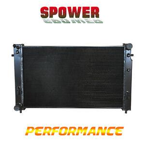 Black 3Row Aluminum Radiator For Holden Commodore VT VX VU HSV V8 LS1 GEN3 97-02