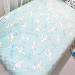 Cinnamoroll Blanket Bed Sheet Flannel Soft Plush Nap blanket Throws Beddings