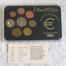 Germania 2006 Euro commemorative 2 in 8 MONETE EURO tipo Set-Pack/COA