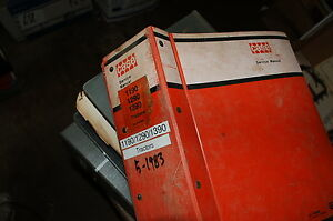 CASE 1190 1290 1390 TRACTOR Repair Service Manual david brown 1983 farm oem book