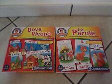 clementoni  puzzle giocattoli educativi