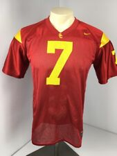 fd151f5ee USC TROJANS Nike College NCAA #7 SS Football Jersey Youth XL 20 EUC