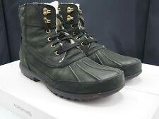Cole Haan Air Rhone Quilted Sherpa Waterproof Boots Men's size 11 US