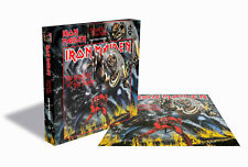 IRON MAIDEN - THE NUMBER OF THE BEAST Album Cover - Rock Saws Puzzle 500 Pcs.