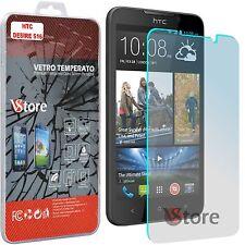 """Pellicola in Vetro Temperato Per HTC DESIRE 516 Protezione Schermo LCD 4,7"""""""