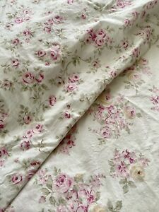 Simply Shabby Chic Full Queen Duvet Blush Beauty Pink Roses Collection