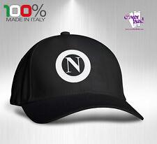 Cappello Berretto Hat Cappellino Houston 5 pannelli NERO - NAPOLI