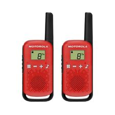 Motorola TALKABOUT T42 Twin Pack Two-Way Radios in Red PMR 446 Compact