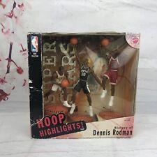 Hoop Highlights History of Denis Rodman Mattel 1999