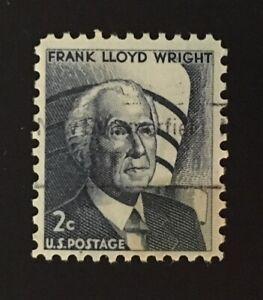 New Summerfield, Texas Precancel - 2 cents Frank Lloyd Wright (U.S. #1280) TX