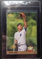 1993 UPPER DECK #449 DEREK JETER ROOKIE CARD RC NEW YORK YANKEES HOF VG-EX