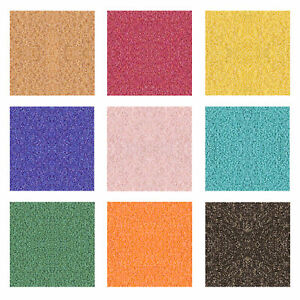 Miyuki Japanese Seed Beads Round Delica 15/0, 11/0 Matte, AB, Metallic Colors