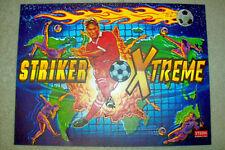 Stern Striker Extreme Pinball Machine Translite   NOS/Unused    Free Shipping