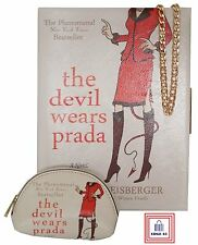The Devil Wears Prada Faux Leather Book Clutch Evening Bag With Matching Purse