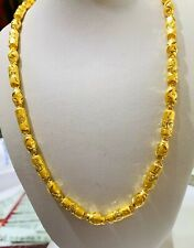 24k Solid Yellow Gold Necklace 24 Inches 31.30Grams(2799$)