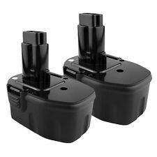 2 x 14.4V NI-CD Battery for DEWALT 14.4 VOLT DC9091 DW9091 DW9094 Power Tool
