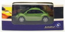 Solido 1/64 Scale Model Car S6400600 - Volkswagen New Beetle - Green