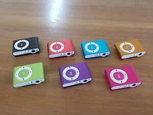 MINI MP3 PLAYER BRAND NEW 8GB to 32GB MEMORY WITH CLIP - Local Brisbane Seller !