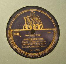 Disco Grammofono 78 Giri Vintage Cetra - Lucianito - Orchestra Rio Rita