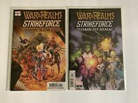 Marvel Comics War Of The Realms: Strikeforce War Avengers#1 Dark Elf Realm #1