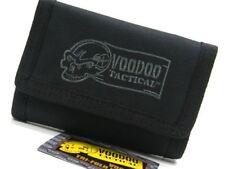 Voodoo Tactical Black Tri-Fold Hook & Loop Wallet + Carabiner Clip 20-012401000
