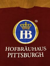 Hofbrauhaus Pittsburgh Beer T-shirt Brewery Shirt Size 2Xl