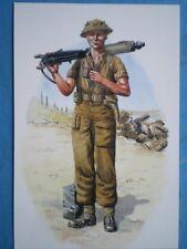 POSTCARD ROYAL NORTHUMBERLAND FUSILIERS - ITALY 1944 FUSILIER 1ST BATL