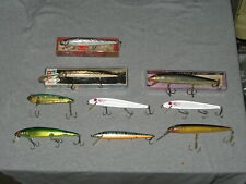 Rapala, Rebel and Bomber Fishing Lure Assortment