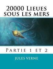 20000 Lieues Sous les Mers : Volume 1 Et 2 by Jules Verne (2015, Paperback)