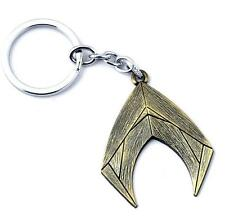 DC Cosplay Comics Aquaman Justice League Sign Metal Key Chain Key Ring Pendant *