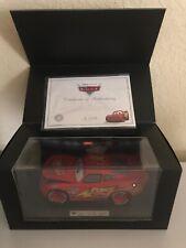 Cars disney pixar lightning mcqueen 1:18 model SCH4500360  By schuco