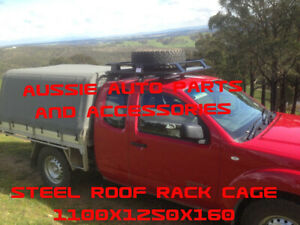 Toyota Hilux Extra Cab Cage Steel roof rack 1100mm including  tyre holder