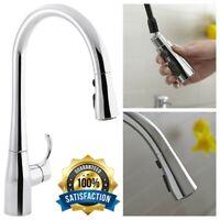 KOHLER Simplice Pull Down Kitchen Faucet Sprayer Polished Chrome Single Hole