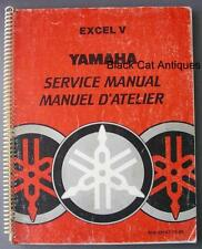 Original 1978 Yamaha Excel V Snowmobile Service Manual English/ French - 140 Pgs