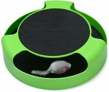 New listing Fynigo Cat Interactive Toys with a Running Mice and a Scratching Green