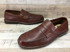 571626aa434 Rockport Brown Leather Penny Loafers Men s sz 10.5 M