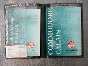 Holden Commodore Calais VY Series Owners Handbook Manual June 2002