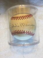 Eddie Murray Autographed Baseball Baltimore Orioles Hall Of Fame MLB