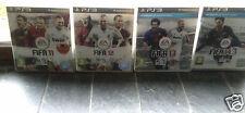 Lot 4 jeux Fifa 11, 12, 13, 14  Playstation 3 - Excellent état - Boitier Complet